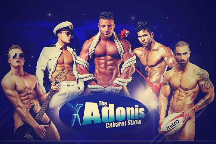 Adonis Cabaret Strip Show Hen Party