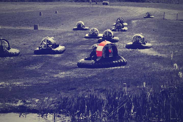 Hovercraft Racing Hen Party