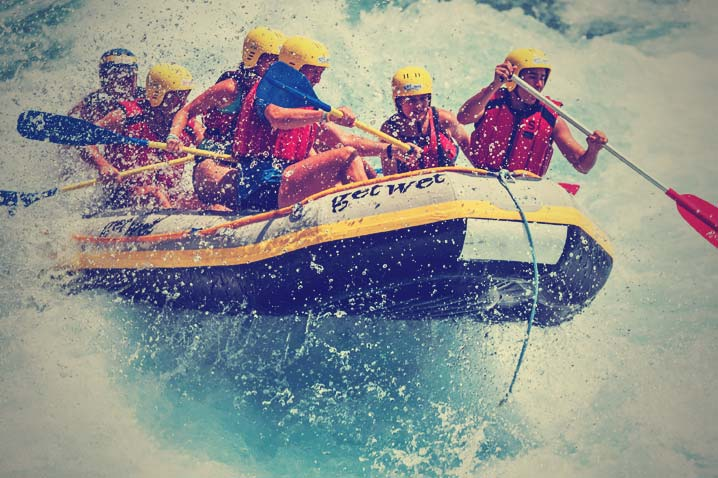 White Water Rafting Hen Party