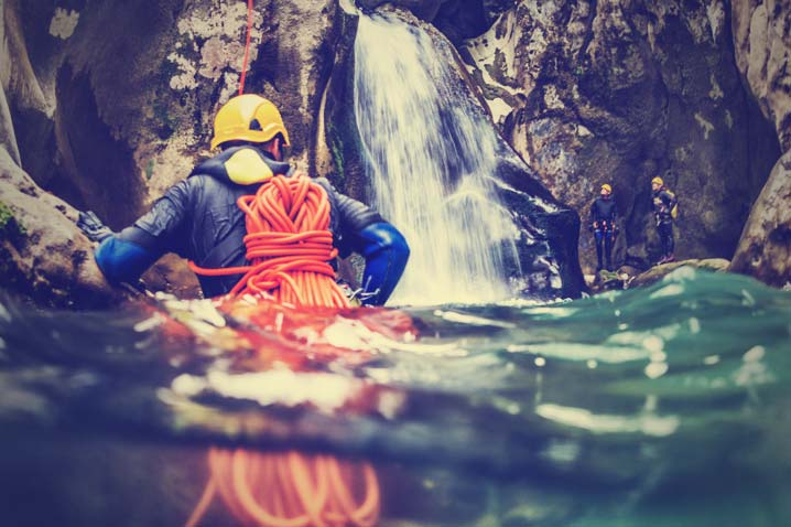 Canyoning Stag Do