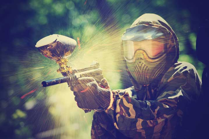 Paintball in Newquay
